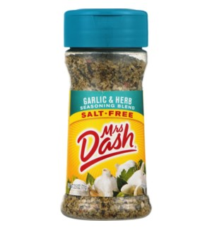 MRS DASH S.F. GARLIC & HERB SPICE