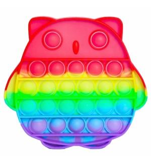 PUSH POP OWL BUBBLE #28261 FIDGET TOY