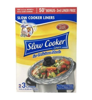 HOME SELECT SLOW COOKER #10815 LINERS
