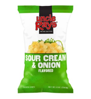 UNCLE RAY #633 SOUR CREAM & ONION POTATO CHIPS