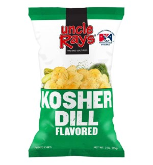 UNCLE RAY #637 KOSHER DILL POTATO CHIPS