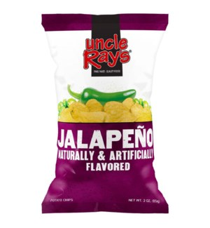 UNCLE RAY #638 JALAPENO POTATO CHIPS