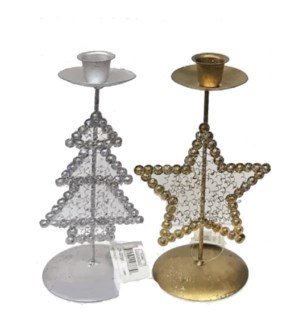CH-MAS #GT866 TREE CANDLE HOLDER