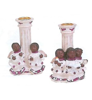 CH-MAS #GT892 ANGEL CANDLE HOLDER