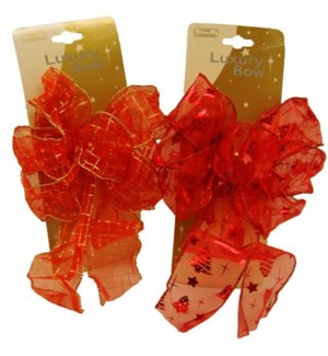 CH-MAS #BW113 RED LUXURY BOW