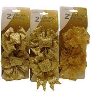 CH-MAS #BW211 GOLD LUXURY BOW