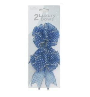 CH-MAS #BW214 BLUE LUXURY BOW