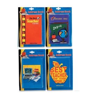 TH205 ADDRESS BOOK #1 TEACHER