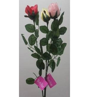 "FLOWERS #FL169 26"" ROSE BUD"
