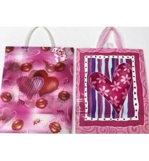 GIFT BAG #00521 ASST W/LOVE HEARTS