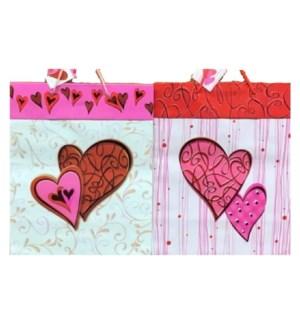 GIFT BAG #00522 LOVE HEARTS