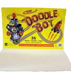 DOODLE PAD #R0750035 ROBOT MANILLA