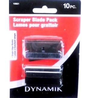 DYNAMIK #A10821 SCRAPER BLADE PACK