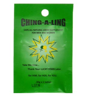 CHING-A-LING - SEXUAL ENHANCEMET