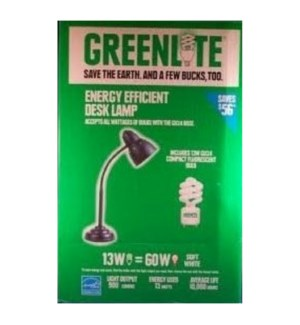 GREENLITE #30139 DESK LAMP