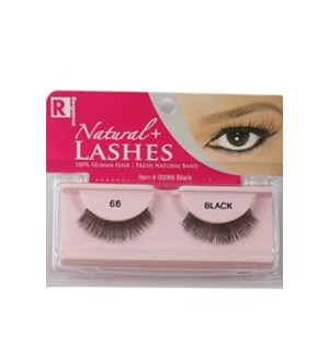EYELASHES #00066 NATURAL PREMIUM VIRGIN H
