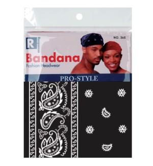 BANDANA #365BLA BLACK