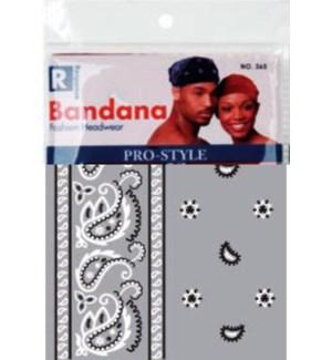 BANDANA #365GRA GRAY
