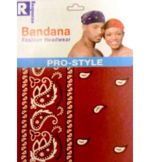 BANDANA #365BUR BURGANDY