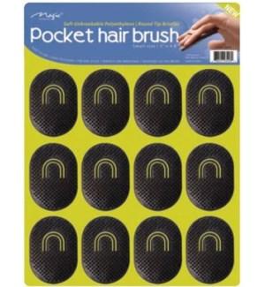 POCKET HAIR BRUSH #206S ON BOARD