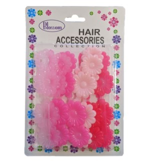 HAIR BARRETTE #BBB22-04M1 PINK,HOT PINK