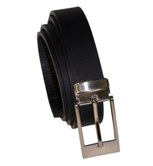 MEN'S BELT #BELT19 BLACK PLAIN