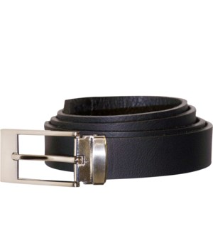 MEN'S BELT #206BLA BLACK