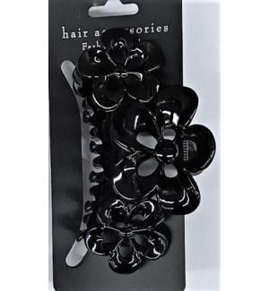 HAIR CLIP #HCL55-3BLA LG/BLACK
