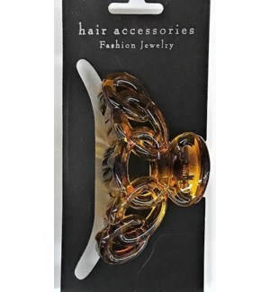 HAIR CLIP #HCL35-3BRO MED/BROWN