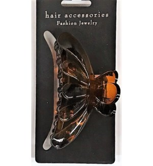 HAIR CLIP #HCL35-4BRO MED/BROWN