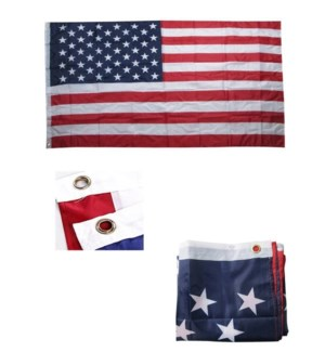USA FLAG #86201 POLY STANDARD