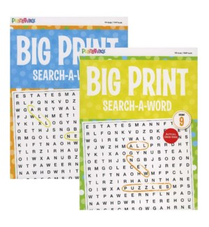 KAPPA #528342 WORD FIND, BIG PRINT