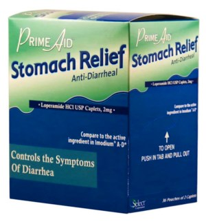 PRIME AID STOMACH RELIEF ANTI-DIARRHEAL REL