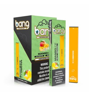 BANG MANGO ICE 300 PUFFS DISPOSABLE