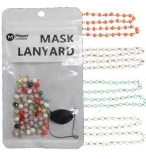 MASK LANYARD #MAL012 BEADS
