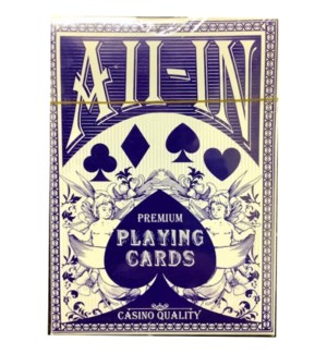 DC PLAYING CARDS #10002 ALL-IN, ASST