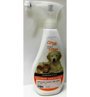 AEROSCENT #05361 PET ODOR CITRUS SCENT SPRAY