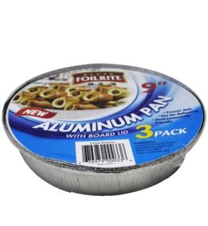 FOILRITE #RU0033 ROUND PAN W/LID