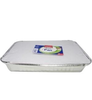FOILRITE #RU0023 FOIL PAN W/LID 4LB