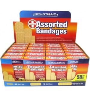 BANDAGE #CH11097 CLEAR ASSORTED BANDAID