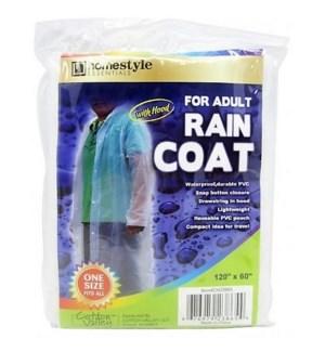 CH23865 ADULT PVC RAIN COAT