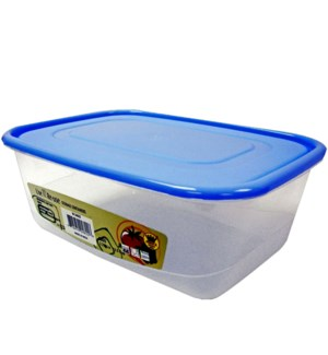 FOOD CONTAINER #IN24822 RECTANGULAR, ASS