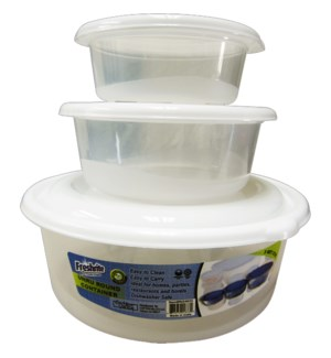 FOOD CONTAINER #IN24833 UNRU 3/SET