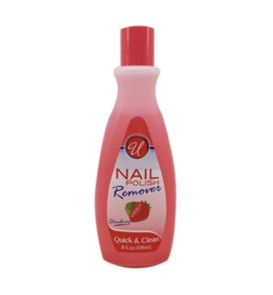 U #24844 STRAWBERRY NAIL POLISH REMOVER