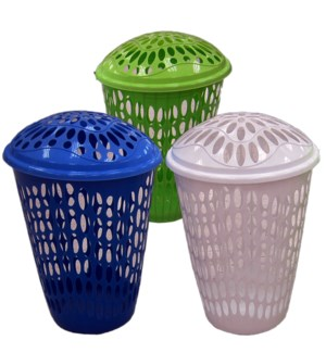 LAUNDRY BASKET #IN24852 W/LID