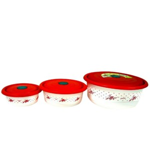 CONTAINER SET #IN24863 ROUND