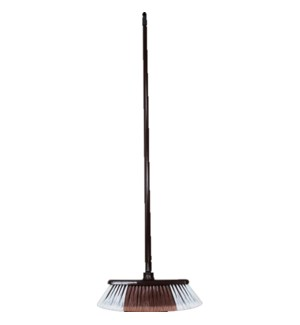 BROOM #CH26677 BROWN W/PLAIN STICK