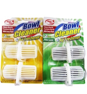 TOILET BOWL CLEANER #CN51104 2CT TABS