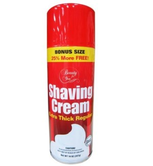 U #55137 SHAVING CREAM REGULAR