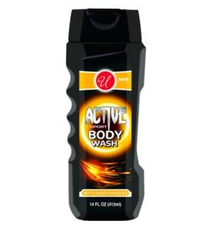 U #55165 ACTIVE SPORT BODY WASH